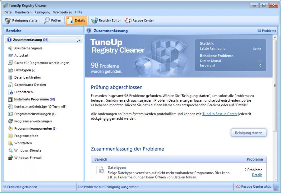 TuneUp Utilities 2014 (3 Users) Screenshot 7