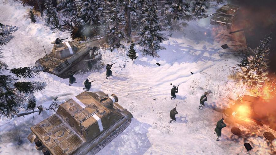 Company of Heroes 2 (WFA) - Oberkommando West Screenshot 4