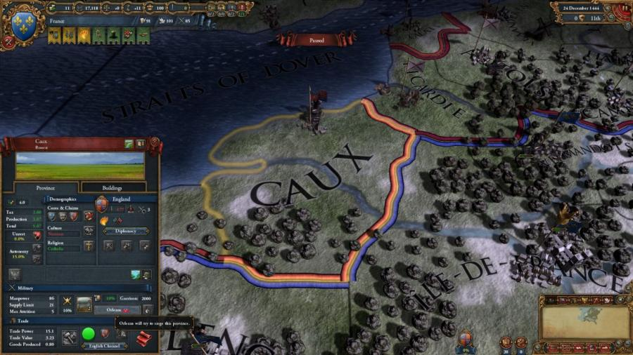 Europa Universalis IV - Art of War (Addon) Screenshot 4