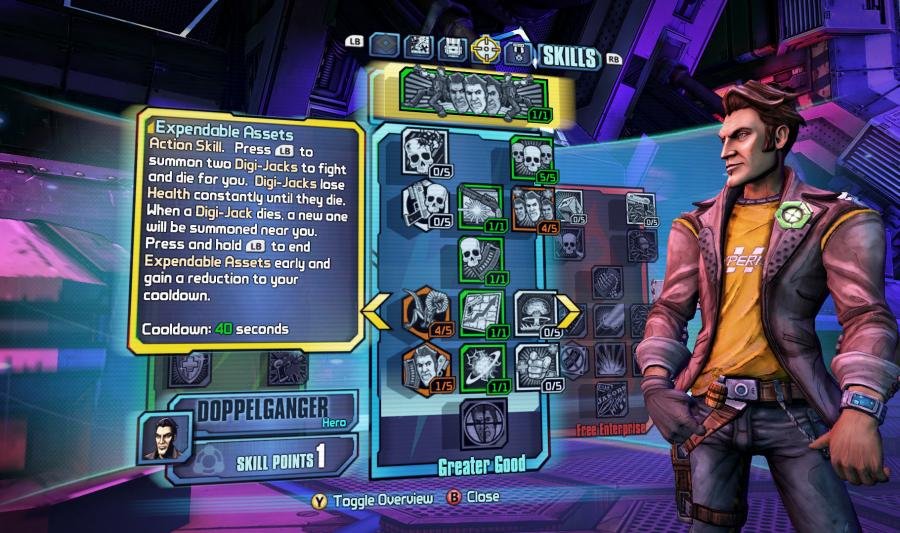 Borderlands The Pre-Sequel - Handsome Jack Doppelganger Pack Screenshot 2