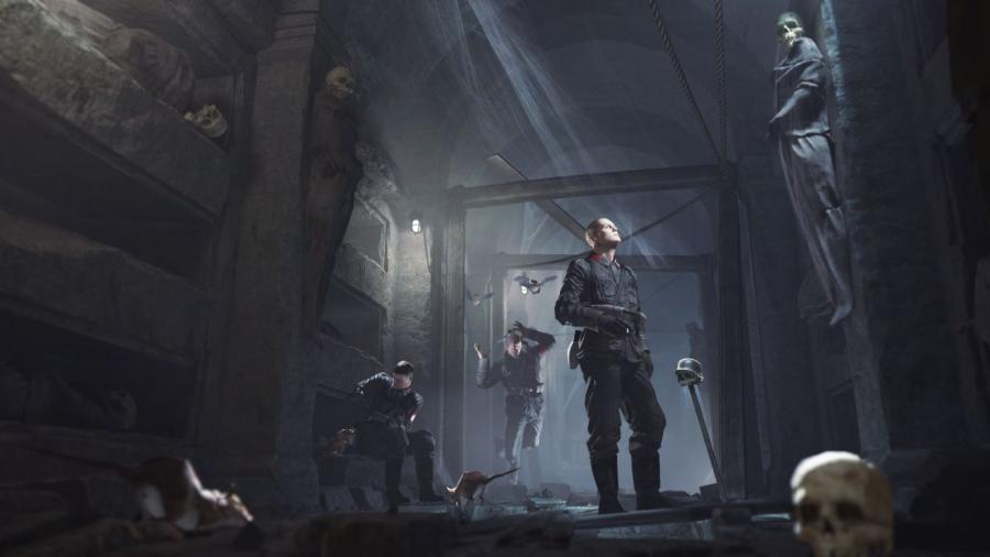 Wolfenstein The Old Blood - DE Key Screenshot 1