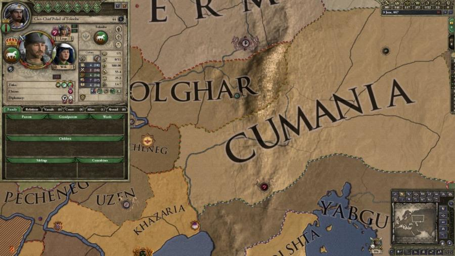 Crusader Kings II - Horse Lords (Addon) Screenshot 3