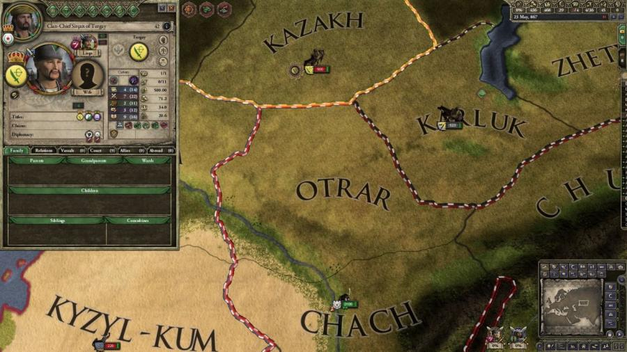 Crusader Kings II - Horse Lords (Addon) Screenshot 4