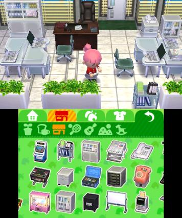 Animal Crossing Happy Home Designer - 3DS Screenshot 1