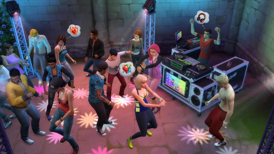 The Sims 4 - Get Together Addon Screenshot 3