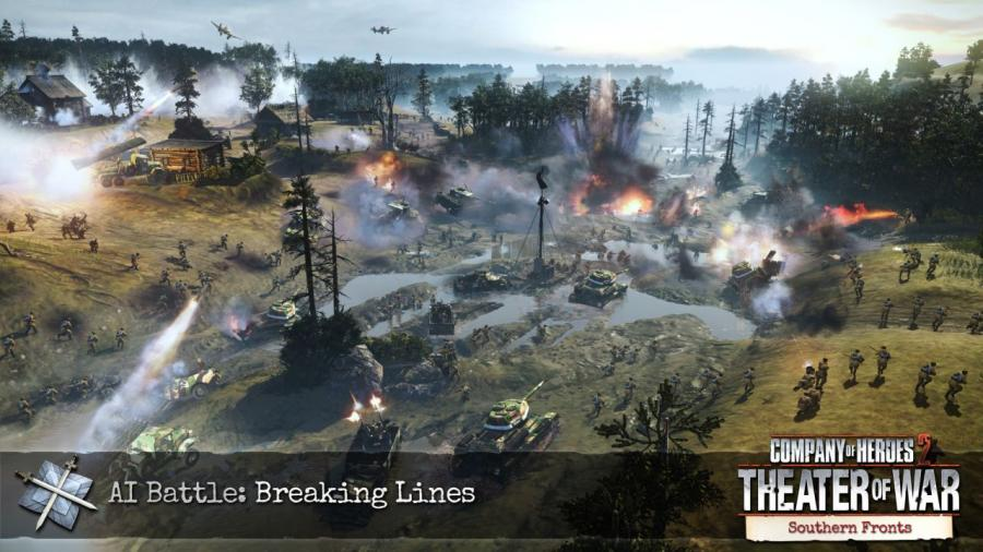 Company of Heroes 2 - Southern Fronts DLC Screenshot 1