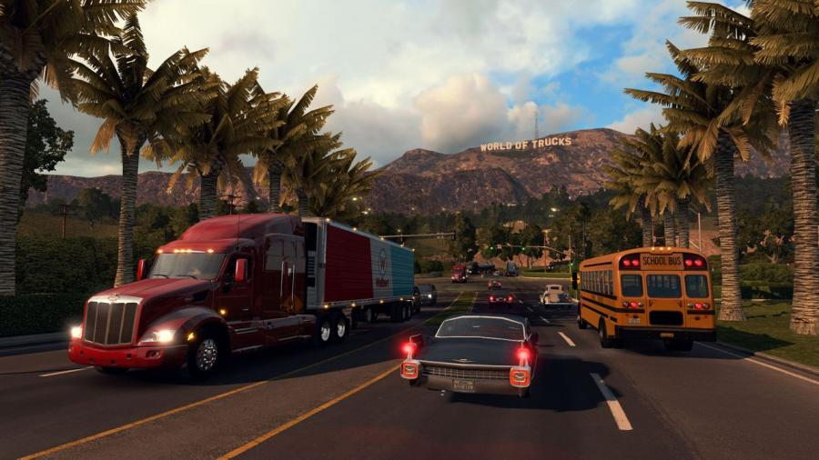 American Truck Simulator Screenshot 1