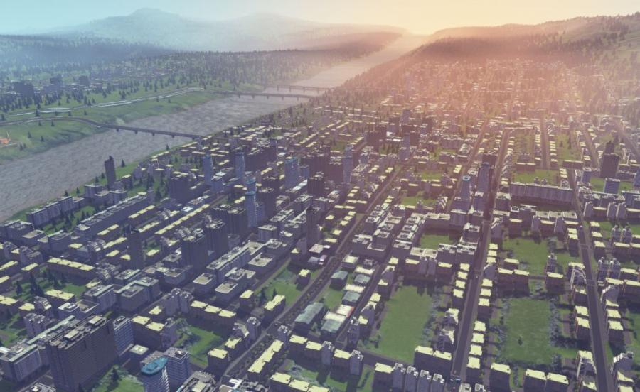 Cities Skylines (Steam Gift Key) Screenshot 1