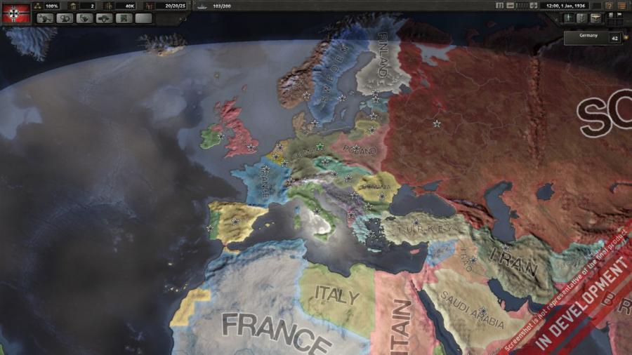 Hearts of Iron IV - Field Marshal Edition (DE Version) Screenshot 1