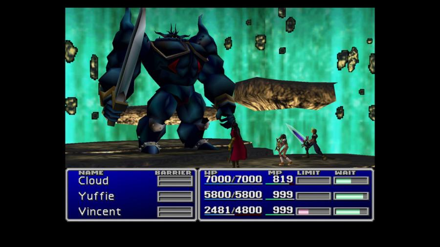 Final Fantasy VII / Final Fantasy VIII - Double Pack Screenshot 1