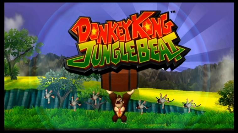Donkey Kong Jungle Beat - Wii U Download Code Screenshot 1
