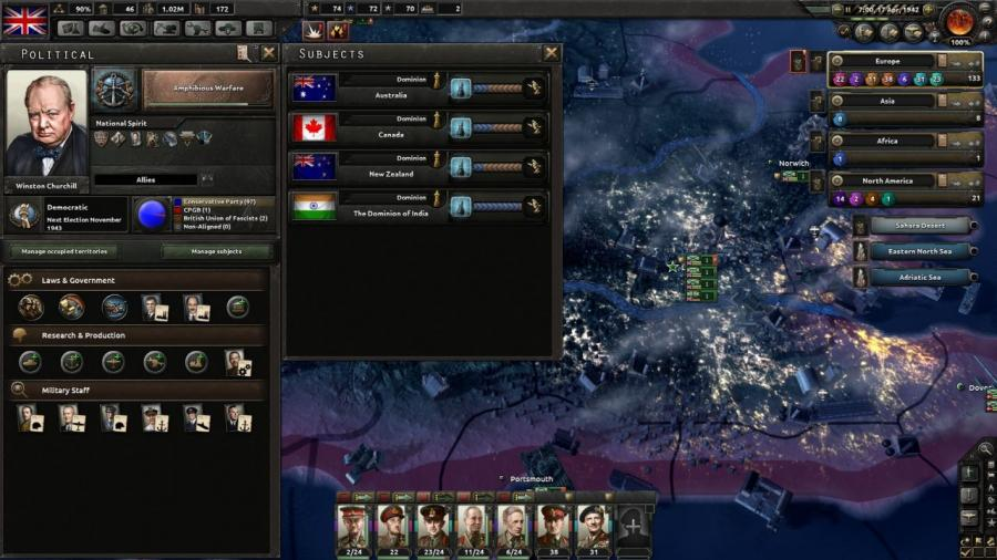 Hearts of Iron IV - Together for Victory (Expansion) Screenshot 1