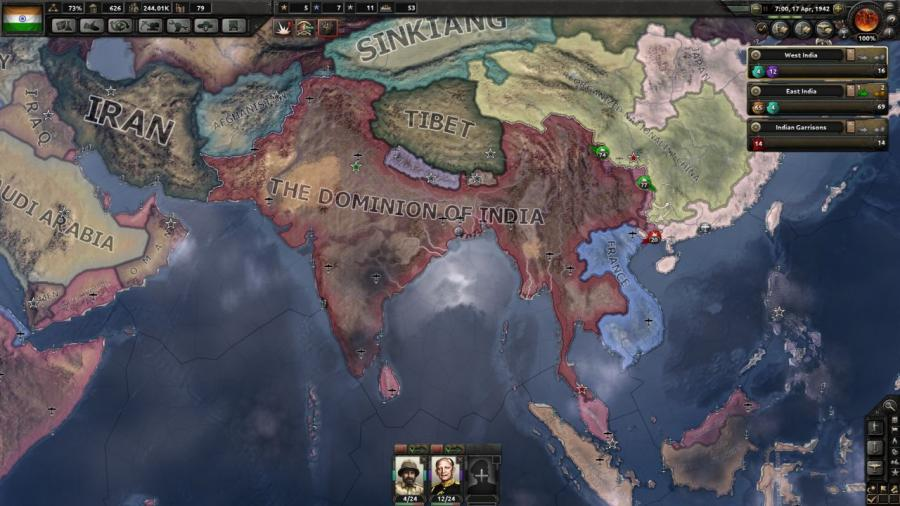 Hearts of Iron IV - Together for Victory (Expansion) Screenshot 2