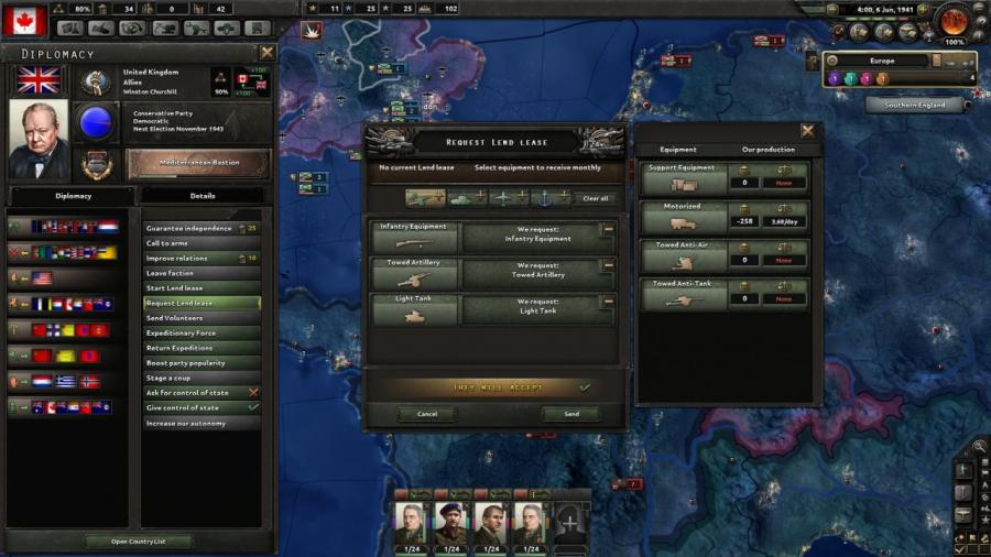 Hearts of Iron IV - Together for Victory (Expansion) Screenshot 3