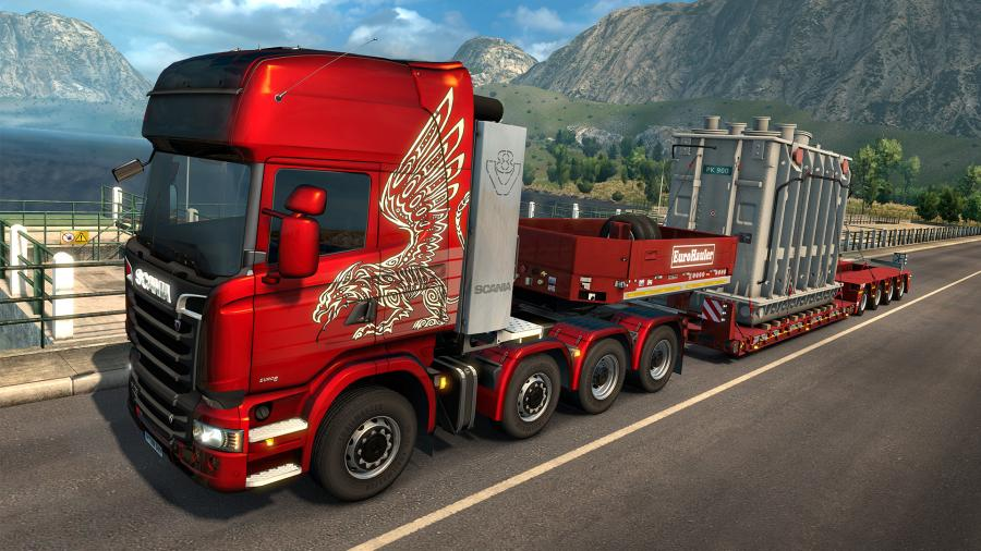 Euro Truck Simulator 2 - Heavy Cargo Pack (DLC) Screenshot 2