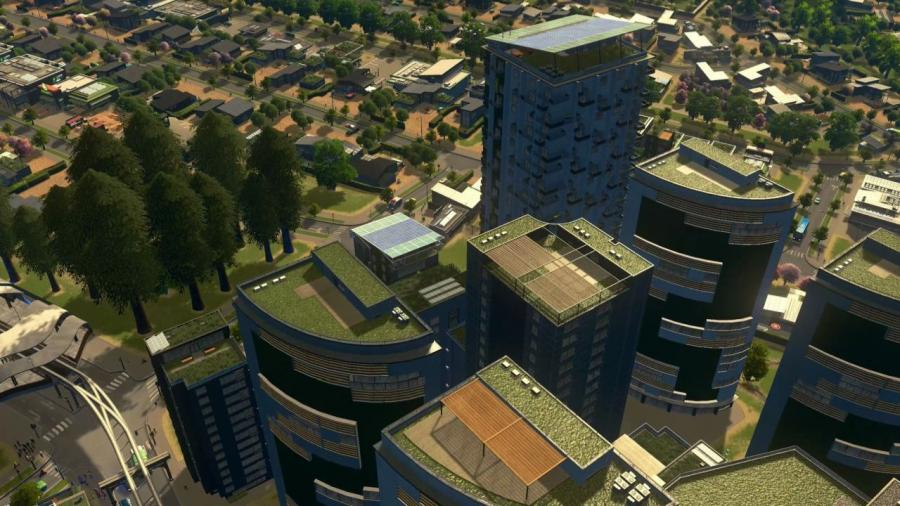 Cities Skylines - Green Cities DLC Screenshot 5