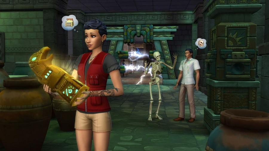 The Sims 4 - Jungle Adventure Bundle (DLC) Screenshot 2