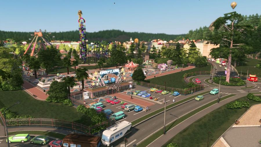 Cities Skylines - Parklife Plus (DLC) Screenshot 4