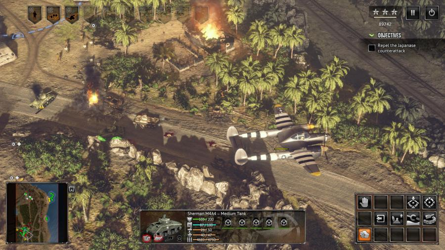 Sudden Strike 4 - The Pacific War (DLC) Screenshot 9