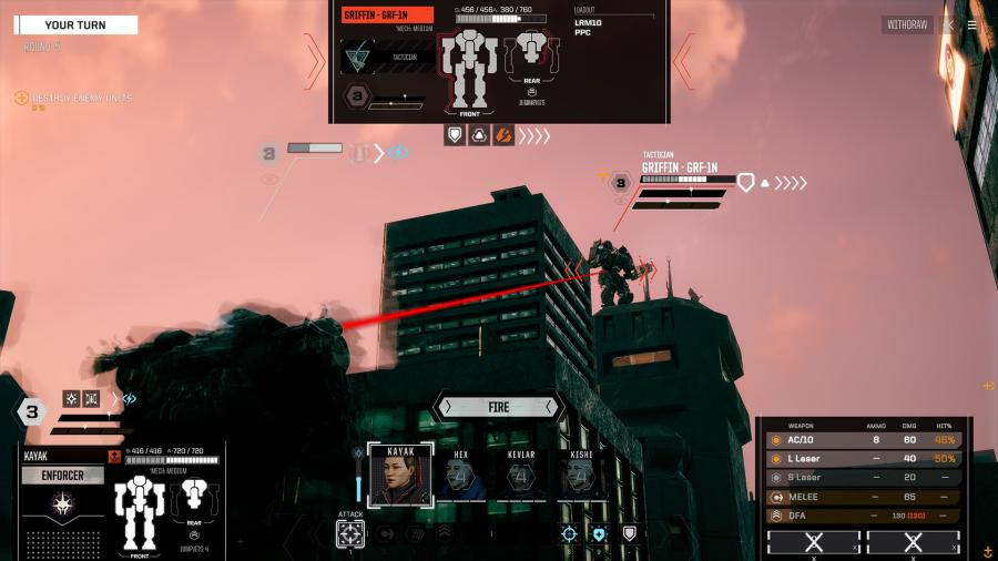 Battletech - Urban Warfare (DLC) Screenshot 8