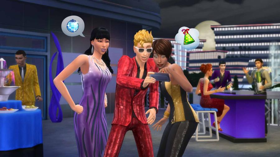 The Sims 4 - Luxury Party Stuff (DLC) Screenshot 3