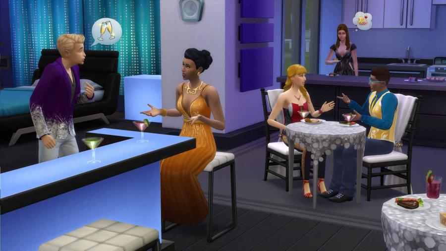 The Sims 4 - Luxury Party Stuff (DLC) Screenshot 5