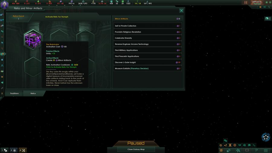 Stellaris - Ancient Relics Story Pack (DLC) Screenshot 3