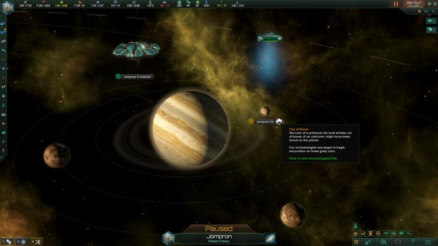 Stellaris - Ancient Relics Story Pack (DLC) Screenshot 2