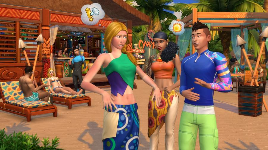 The Sims 4 - Island Living (DLC) Screenshot 5