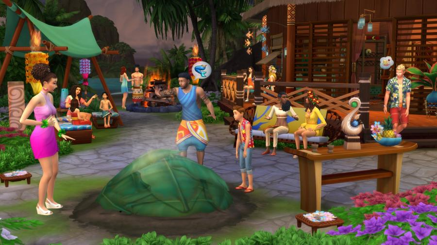 The Sims 4 + Island Living Bundle Screenshot 4