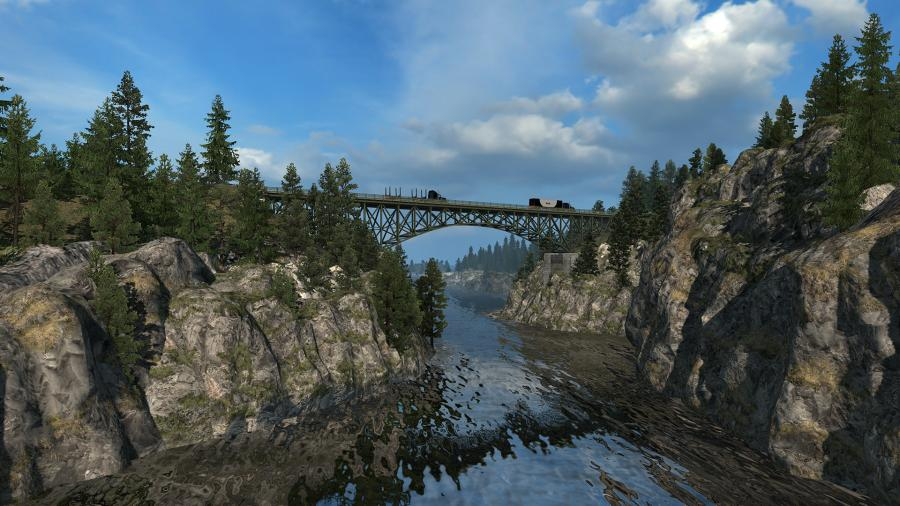 American Truck Simulator - Washington (DLC) Screenshot 4