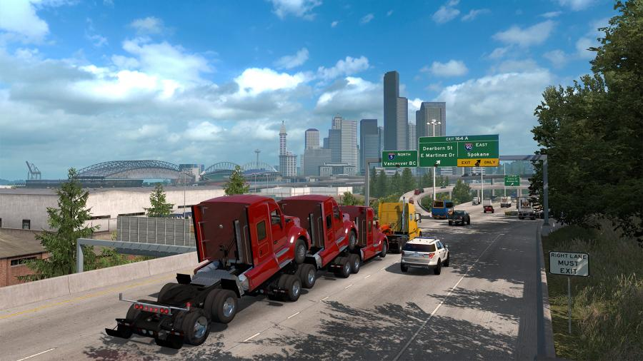 American Truck Simulator - Washington (DLC) Screenshot 5