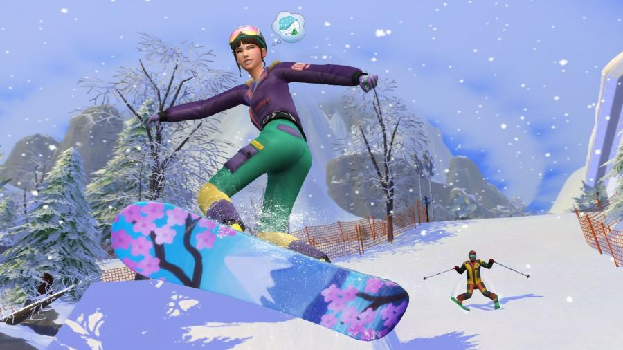 The Sims 4 - Snowy Escape (DLC) Screenshot 4