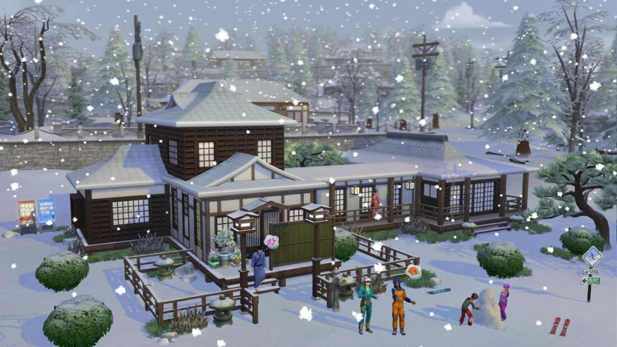 The Sims 4 - Snowy Escape (DLC) Screenshot 5