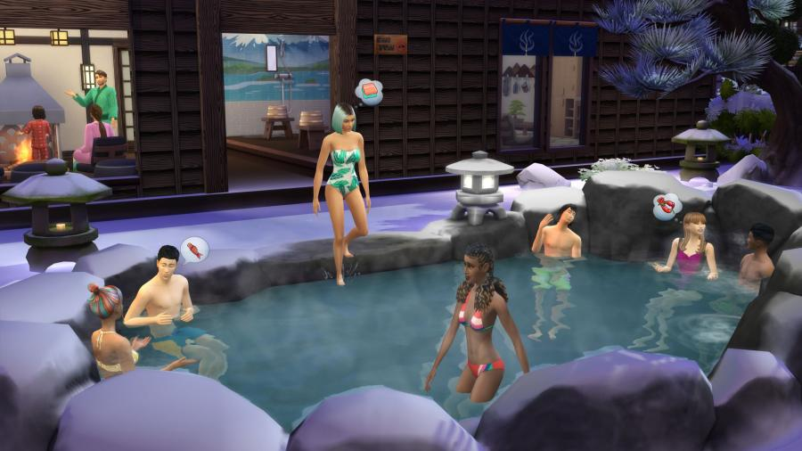 The Sims 4 - Snowy Escape (DLC) Screenshot 3